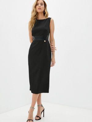 Черное весеннее платье Rich & Naked