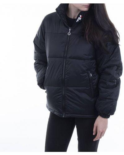 Черная куртка Fila