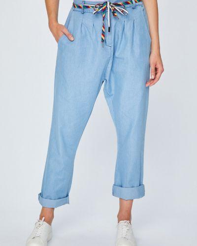 Свободные брюки с завязками с карманами Answear