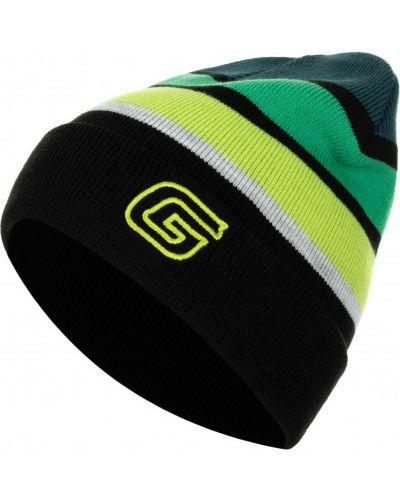 Зеленая шапка двойная Glissade