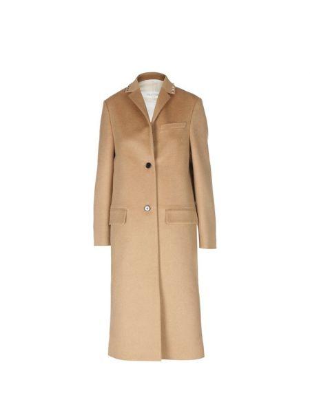 Пальто шерстяное с воротником Valentino