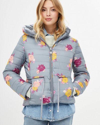 Зимняя куртка осенняя серая Paccio