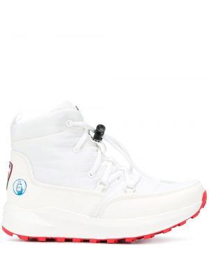 Ботинки на шнуровке - белые Rossignol