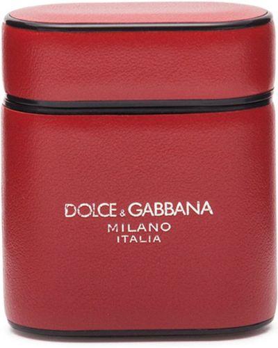 Etui na klucze z prawdziwej skóry Dolce And Gabbana
