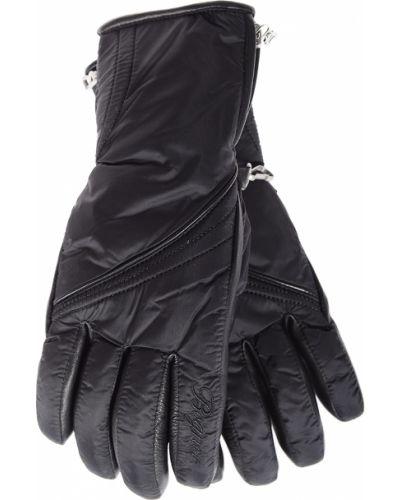 Кожаные перчатки черные Bogner