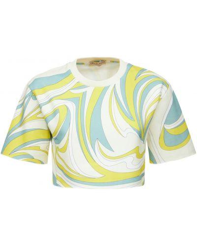 Хлопковая футболка Emilio Pucci