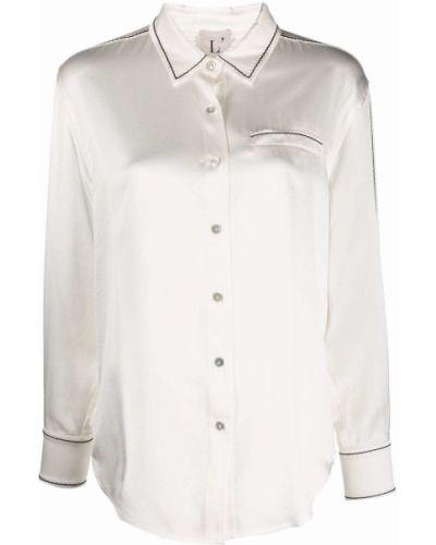 Шелковая рубашка - белая Lautre Chose
