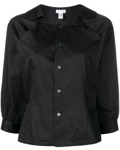 Рубашка на пуговицах черная Comme Des Garçons Comme Des Garçons