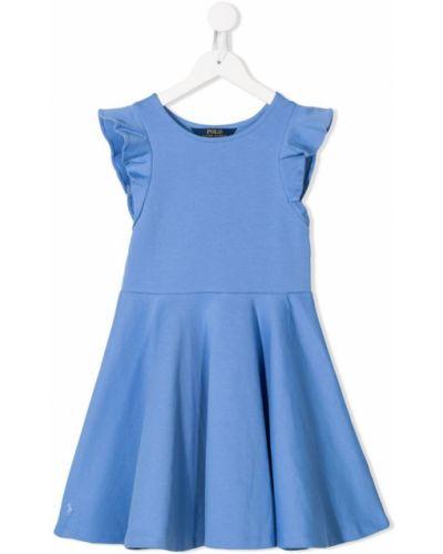 Платье с рукавами короткое Ralph Lauren Kids