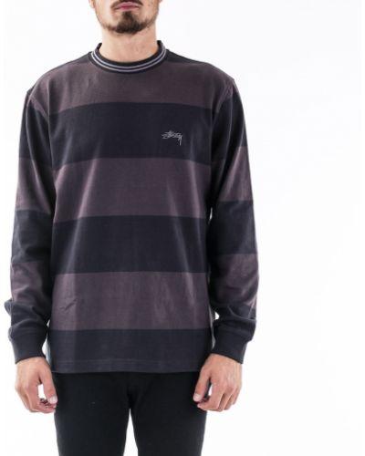 Czarny sweter oversize Stussy