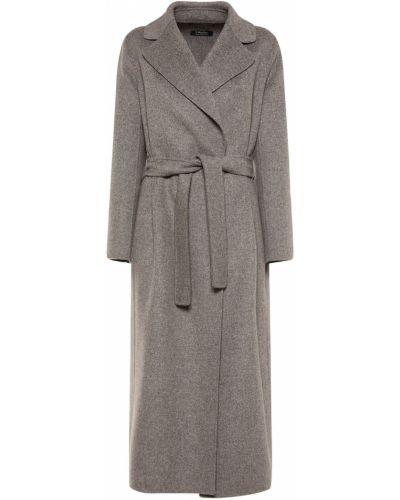 Шерстяное пальто - серое 's Max Mara