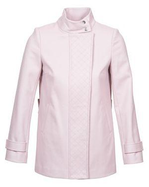 Różowy płaszcz przeciwdeszczowy Naf Naf