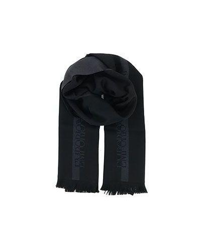Черный палантин Emporio Armani