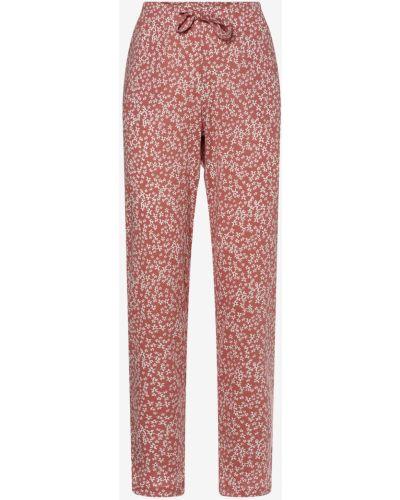 Różowe spodnie od piżamy Marie Lund
