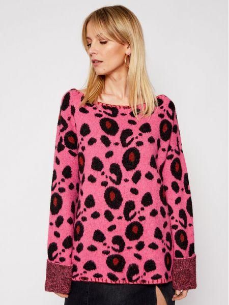 Sweter - różowy One Teaspoon