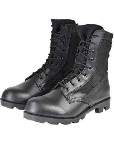 Ботильоны на шнуровке - черные Mil-tec