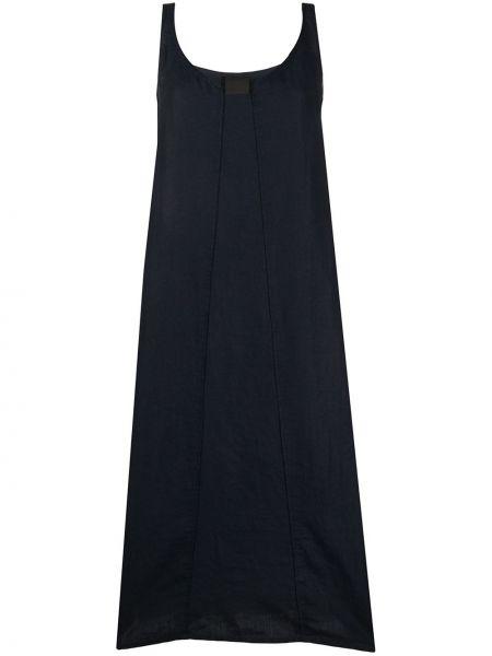 Платье миди средней длины - черное Rundholz