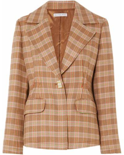 Пиджак твидовый с подкладкой с манжетами Rejina Pyo
