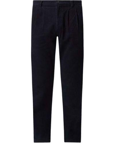 Niebieskie spodnie bawełniane Nowadays