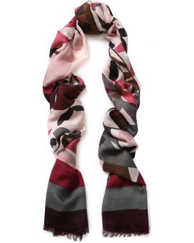 Розовый шарф узкий Loro Piana