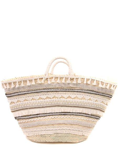 Пляжная сумка плетеная соломенная Raffaela D'angela