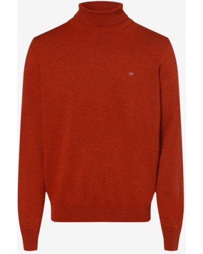 Sweter dzianinowy - pomarańczowy Fynch-hatton