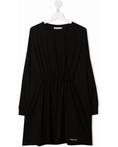 Czarna sukienka z wiskozy Simonetta
