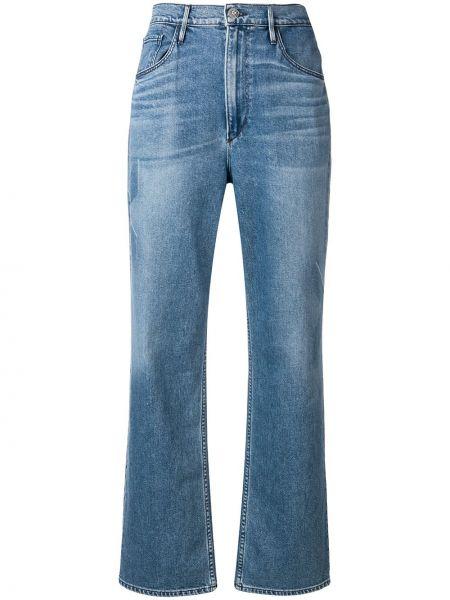 Прямые джинсы классические - синие 3x1