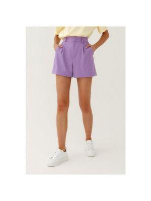 Фиолетовые шорты Mist