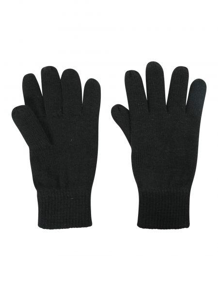 Czarne rękawiczki materiałowe Mountain Warehouse