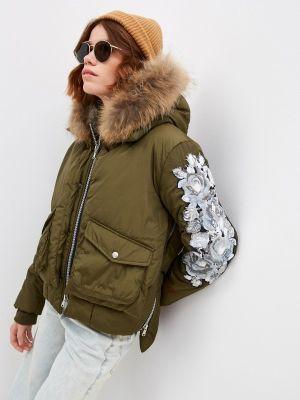 Демисезонная куртка хаки Canadian