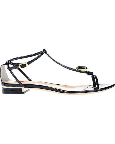 Кожаные сандалии - черные Ballin