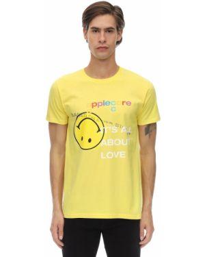 Żółty t-shirt bawełniany Applecore