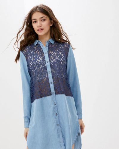Платье - голубое U.s. Polo Assn.