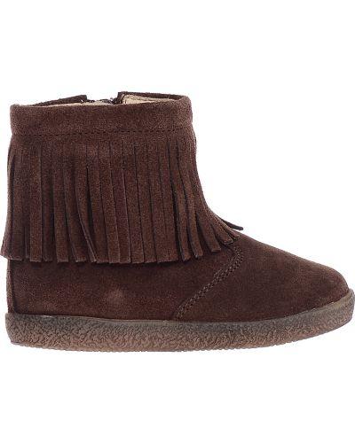Коричневые ботинки Falcotto
