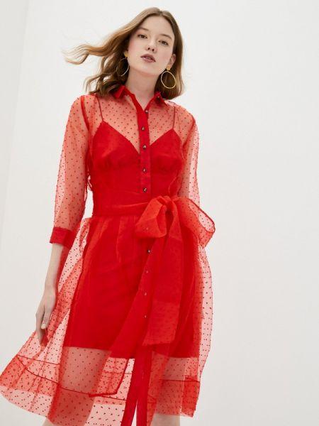 Красное вечернее платье Gorchica
