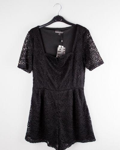Черное повседневное платье Jennyfer