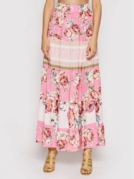 Różowa długa spódnica Maaji