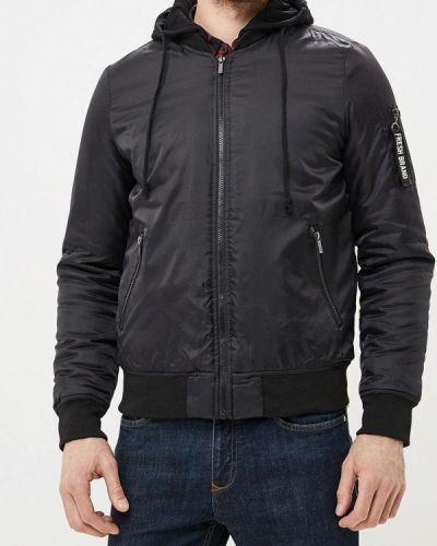 Утепленная куртка демисезонная черная Fresh Brand