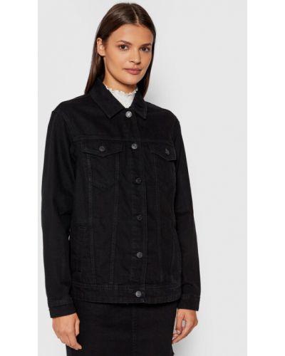 Czarna kurtka jeansowa Noisy May