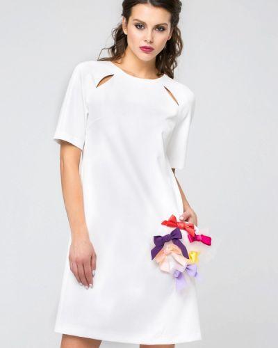 Повседневное белое платье Yulia'sway