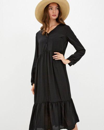 Платье - черное Sela