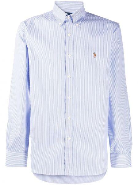 Koszula z długim rękawem klasyczna z logo Ralph Lauren