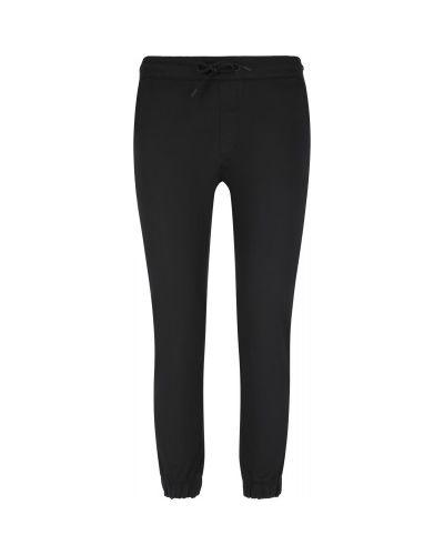 Прямые хлопковые черные брюки Termit