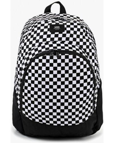 Черный рюкзак городской Vans