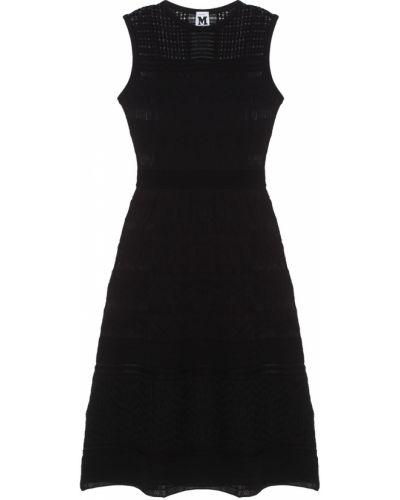 Платье миди повседневное черное M Missoni