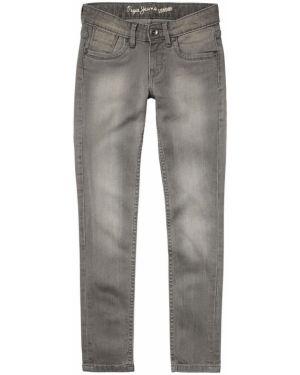 Джинсы с карманами с поясом Pepe Jeans