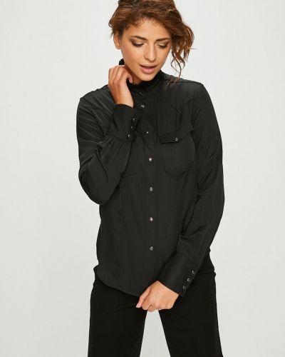 Блузка с длинным рукавом с воротником-стойкой прямая G-star Raw