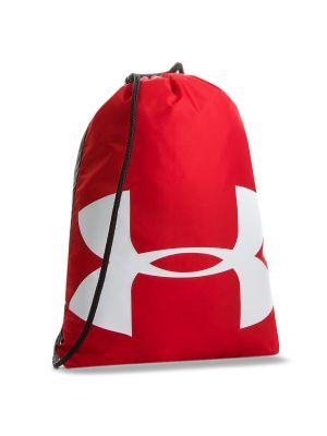 Czerwony torba sportowa na co dzień z niskim stanem Under Armour