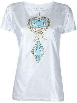 Хлопковая футболка Cynthia Rowley